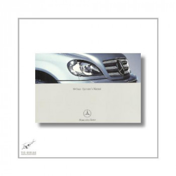 Mercedes-Benz M-Class (97>) Operator`s Manual 2003
