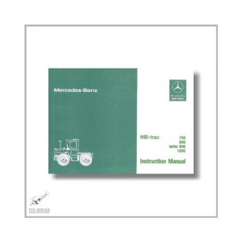 Mercedes-Benz MB trac 440 441 (76>) Instruction Manual
