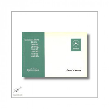 Mercedes-Benz S-Class 116 (72>) Owner`s Manual A/1