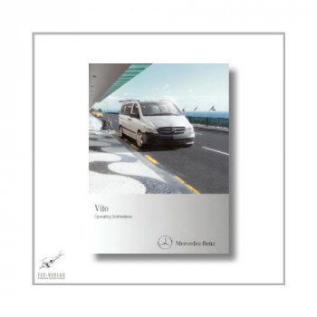 Mercedes-Benz Vito (03>) Operating Instructions 2010