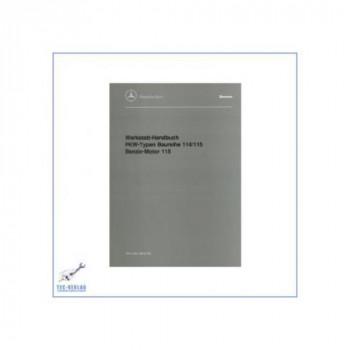 Mercedes Benz W 114 / 115, Typ 200-250 (67-76) - Werkstatthandbuch Band 3