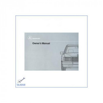 Mercedes Benz W 124 D (84-89) - Owners Manual