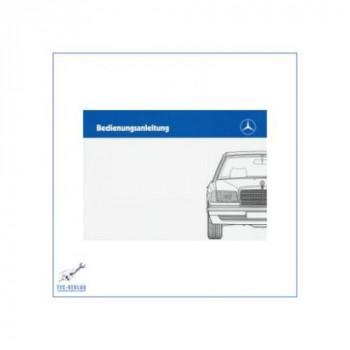 Mercedes Benz W 126 (85-88) - Betriebsanleitung