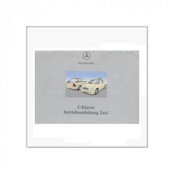 Mercedes C-Klasse Taxi - Bedienungsanleitung