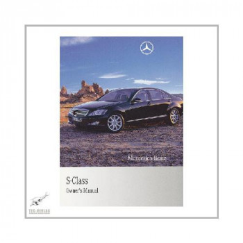 Mercedes S-Class W 221 (08-13)  - Owner`s Manual