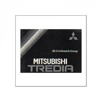 Mitsubishi Tredia - 1982 - Betriebsanleitung