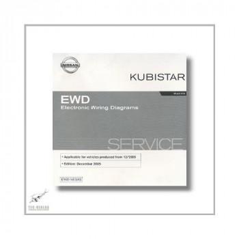 Nissan Kubistar , Model X 76  (03-09) Stromlaufplan CD
