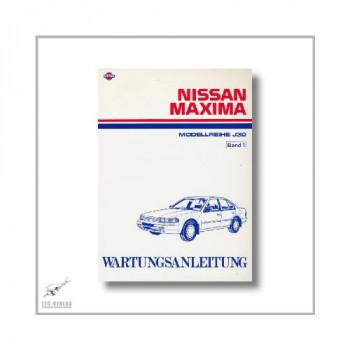 Nissan Maxima - Modellreihe J30 (88-95) - Wartungsanleitung Band 1