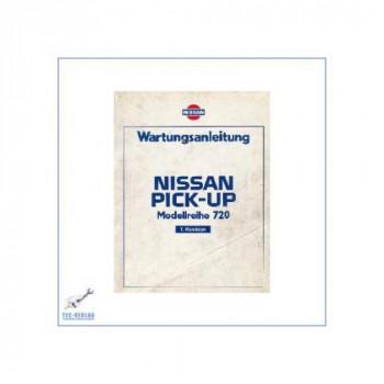 Nissan Pick-Up 720 (80-86) - Wartungsanleitung