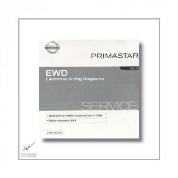 Nissan Primastar , Model X 83  (02-07) Stromlaufplan CD