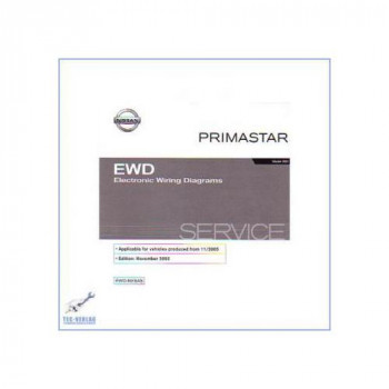 Nissan Primastar X83 Schaltpläne (02-07) - Werkstatthandbuch CD