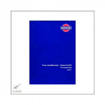 Nissan Primera - Modellreihe W10 (90-97) - Wartungsanleitung Band 1