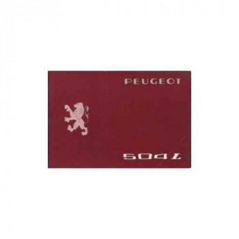 Peugeot 504 L - Betriebsanleitung