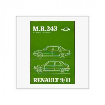Renault 11 (83>) - Werkstatthandbuch Karosserie