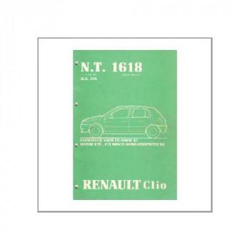 Renault Clio - Werkstatthandbuch Mono Einspritzanlage MKB: C3G720