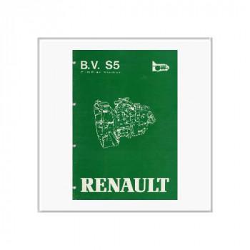 Renault Getriebe 7711074356 Typ S5 18/3  - Reparaturhandbuch