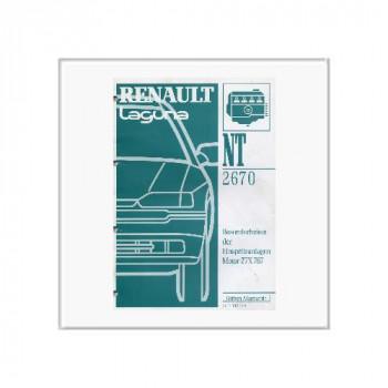 Renault Laguna Einspritzanlage - Werkstatthandbuch