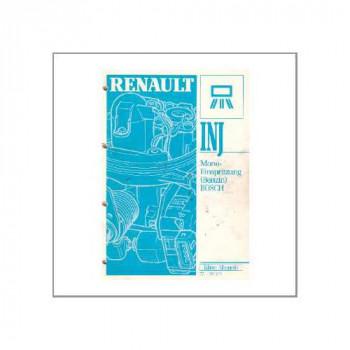 Renault  Benziner (92) - Werkstatthandbuch Bosch Mono Einspritzanlage