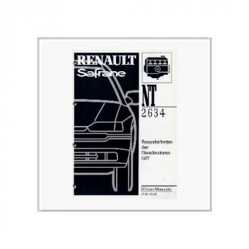 Renault Safrane Diesel - Werkstatthandbuch Nachtrag
