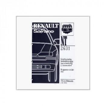 Renault Safrane Servo - Werkstatthandbuch Nachtrag
