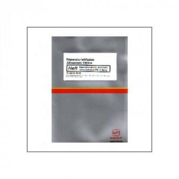 Seat Alhambra (>96) Eigendiagnose Automatikgetriebe 099 4 Gang - Reparaturleitfaden