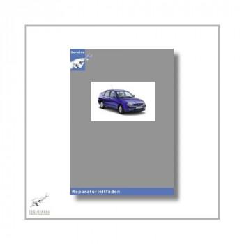 Seat Cordoba 6K (99-02) 1,6l AEH / AKL /  APF / AUR - Reparaturanleitung Motor