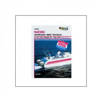 Suzuki 75 - 225 HP 2-Stroke Outboards & Jet Drives (92-99) - Werkstatthandbuch