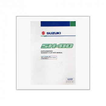 Suzuki Alto SH 410 - Reparatur Richtzeiten Anleitung