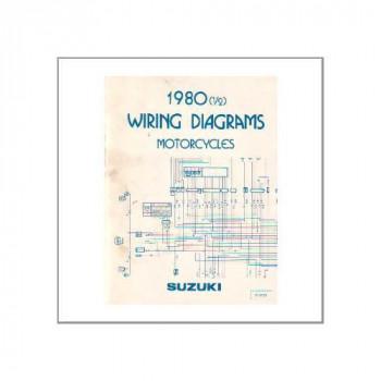 Suzuki div. Modelle 1980 - Wiring Diagrams