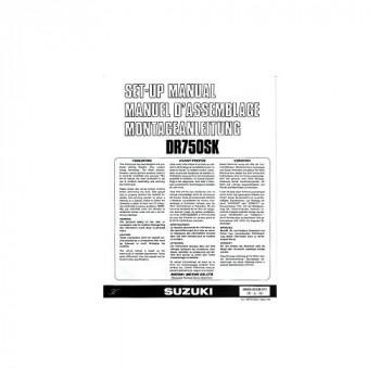 Suzuki DR 750 SK (1988) - Montageanleitung