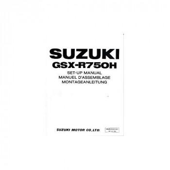 Suzuki  GSX-R750 (85-87) - Montageanleitung