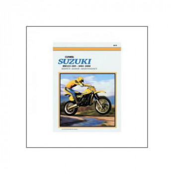 Suzuki RM125, RM250, RM465 and RM500 (81-88) - Repair Manual