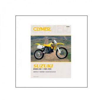 Suzuki RM80, RM125, RM250, RMX250 (89-95) - Repair Manual