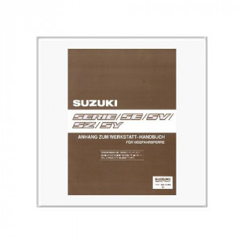 Suzuki Serie SE/SV/SZ/SY - Werkstatthandbuch Anhang