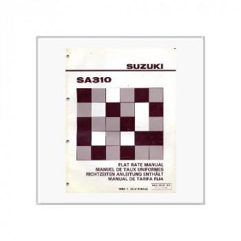 Suzuki Swift SA 310 - Richtzeiten Anleitung