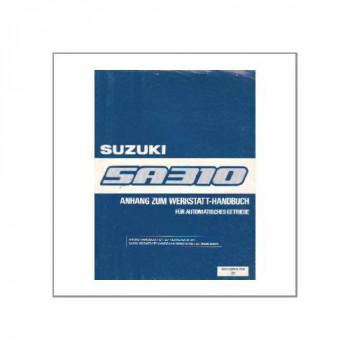 Suzuki Swift SA310 - Anhang zum WHB für Automatisches Getriebe