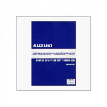 Suzuki Swift SF 310/413/416 - Werkstatthandbuch Karosserie