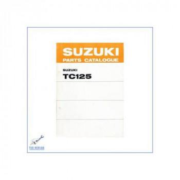 Suzuki TC 125 R / J / K / L / M / A (>75) - Ersatzteilkatalog