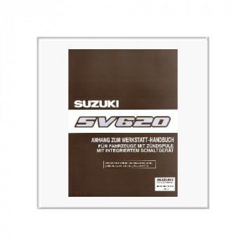 Suzuki Vitara SV 620 - Werkstatthandbuch Anhang 99501-85F20-01G