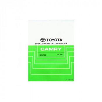 Toyota ACV3 & MCV30 Camry - Zusatz Werkstatthandbuch