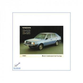 Volvo 343, 345 (ab 1981) - Bedienungsanleitung