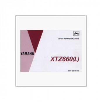 Yamaha XTZ 660(L) - Betriebsanleitung