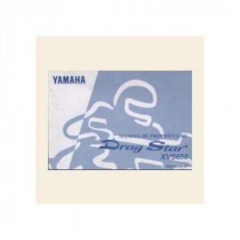 Yamaha XVS 650 - Manual Du Proprietaire