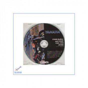 Yamaha YX600 Radian, FZ600 (86-90) - Reparaturanleitung auf CD