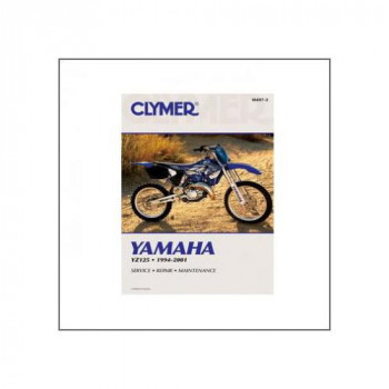 Yamaha YZ125 (94-01) - Repair Manual