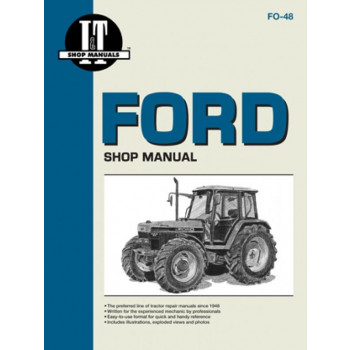 Ford New Holland 5640 / 6640 / 7740 / 7840 / 8240 / 8340 - Shop manual
