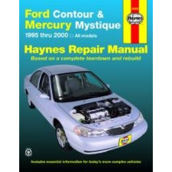 Ford Contour and Mercury Mystique (95 - 00) - Repair Manual Haynes