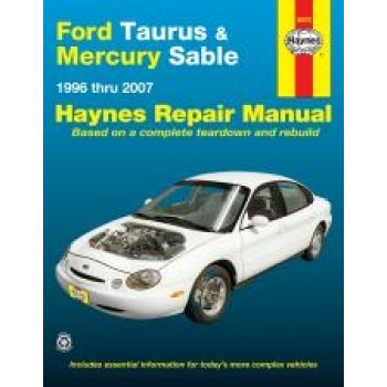 Ford Taurus and Mercury Sable (96 - 05) - Repair Manual Haynes