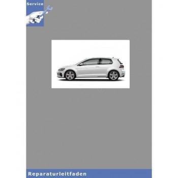VW Golf VII, Typ 5G (12>) 6 Gang Schaltgetriebe 0AJ - Reparaturanleitung
