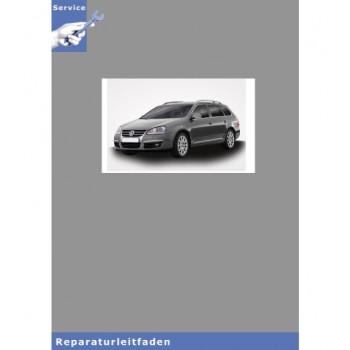 VW Golf V Variant Typ 1K5 (07-09) 6 Gang-Schaltgetriebe 0AG - Reparaturanleitung
